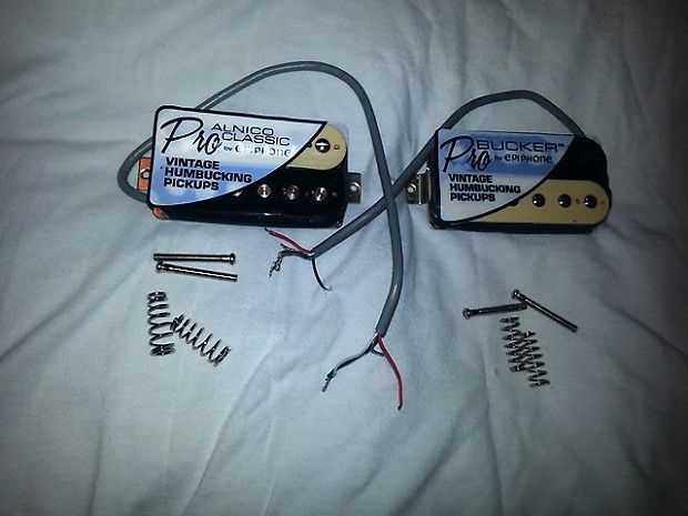 Pleasing Gibson Epiphone Usa 4 Wire 57 Alnico Classic Pro Probucker 3 Reverb Wiring Cloud Staixuggs Outletorg