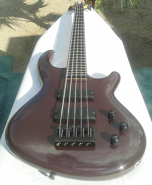 dean electric bass guitar 5 string emg hz soapbar pickups reverb. Black Bedroom Furniture Sets. Home Design Ideas