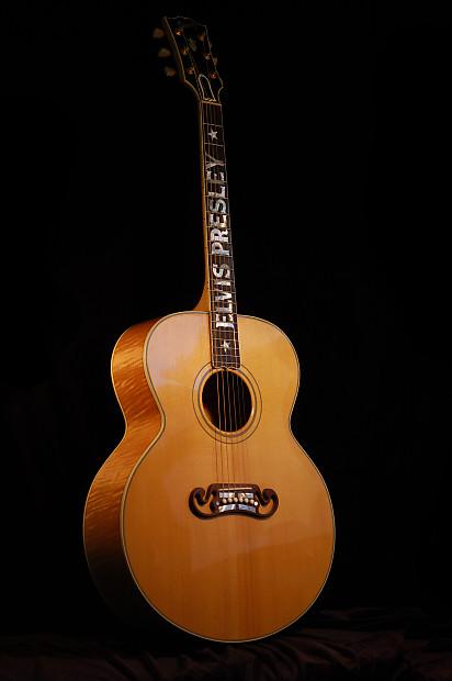 Gibson J 200 Elvis Presley Signature Model 1996 Reverb