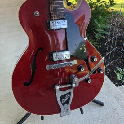 Guild Starfire III Cherry 1965