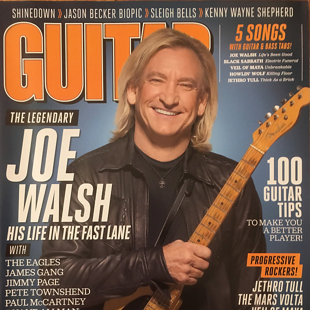 guitar world may 2012 joe walsh reverb. Black Bedroom Furniture Sets. Home Design Ideas