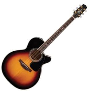 Takamine P6NC BSB Pro Series 6 NEX Cutaway Acoustic/Electric Guitar Brown Sunburst Gloss