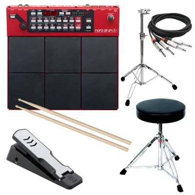 Nord Drum 3P Modeling Percussion Synthesizer Multipad STAGE RIG