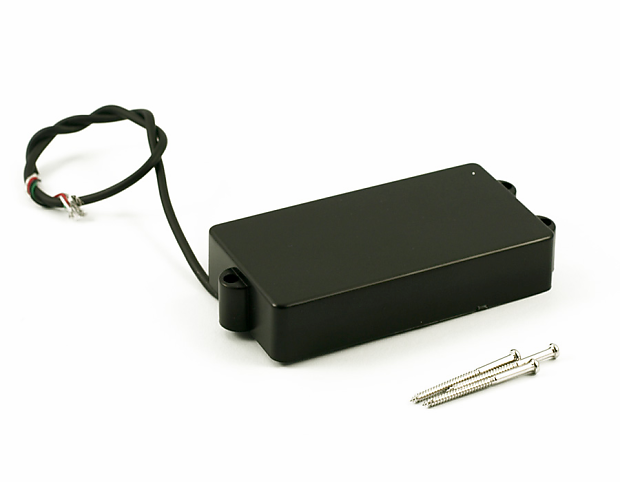 kent armstrong musicman stingray bass pickup with black cover reverb. Black Bedroom Furniture Sets. Home Design Ideas