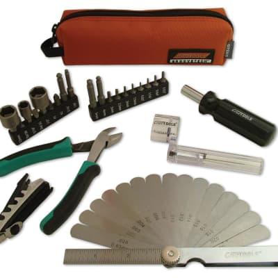 Cruz Tools CRU-GTSH1 CruzTools Stagehand Compact Tech Guitar / Bass Kit