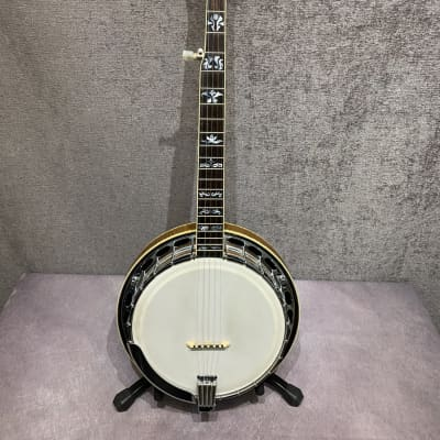 70s Aria Pro II Archtop Banjo w/ OHSC for sale