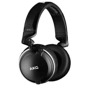 AKG K182 Closed-Back On-Ear Reference Monitor Headphones