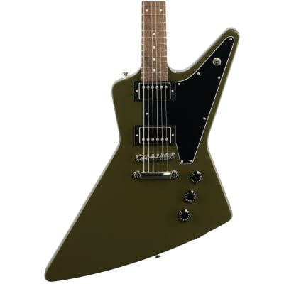 Epiphone Explorer Electric Guitar, Olive Drab Green for sale