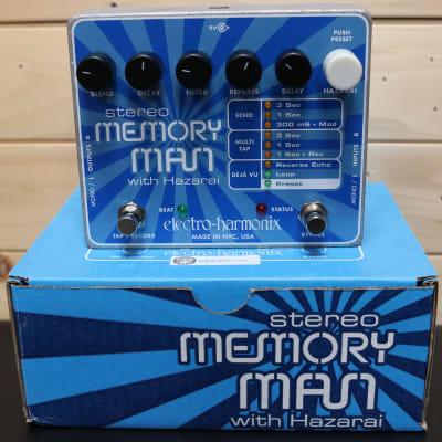 Electro-Harmonix Deluxe Memory Man with Hazarai Digital Delay/Looper - Guitar Effect Pedal