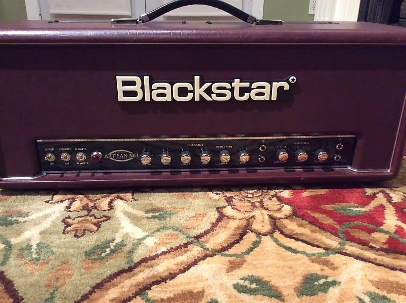 blackstar artisan 30h handwired 30w tube guitar head reverb. Black Bedroom Furniture Sets. Home Design Ideas