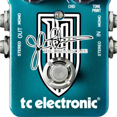 TC ELECTRONIC THE DREAMSCAPE PEDALE PER CHITARRA MULTIEFFETTO JOHN PETRUCCI SIGNATURE for sale