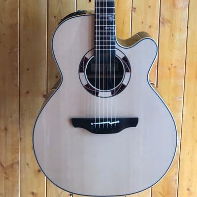 Takamine TSF48C Legacy Series Santa Fe NEX Acoustic/Electric Guitar w/Hard Case for sale