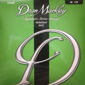 Dean Markley 2606B Nickel Steel 5-String Bass Strings - Medium (48-128)