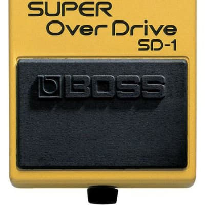 BOSS SD-1 - SUPER OVERDRIVE for sale