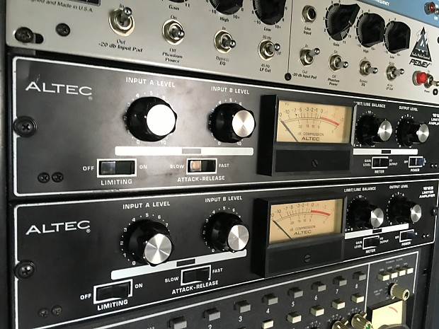 Altec 1612B Limiter / Preamp / Compressor 2 of 2