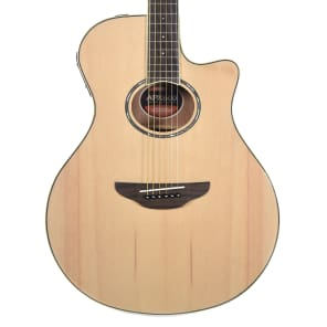 Yamaha APX600 Thinline with Electronics Natural