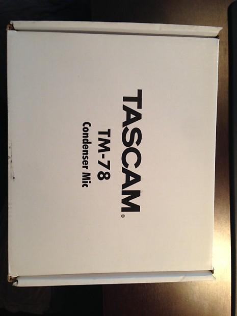 Tascam Tm 78 Tm78 Recording Podcasting Condenser Mic