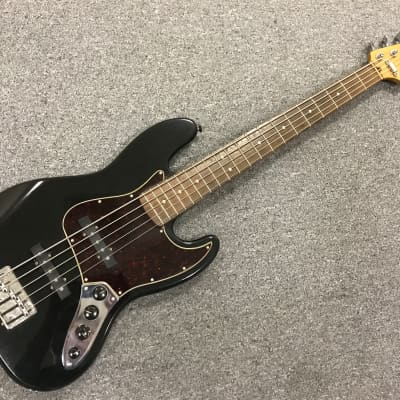 Fender Fender Deluxe Jazz Bass V with Rosewood Fretboard 2001 Black for sale