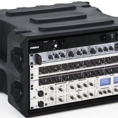 "Gator G-PRO-6U-19 Pro Series 6U 19"" Deep Molded Audio Rack"