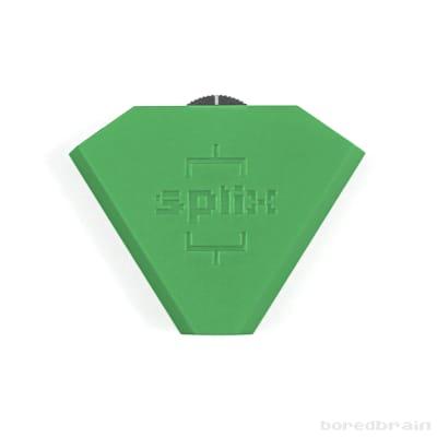 Boredbrain SPLIX Inline Splitter Mixer Eurorack Modular 3.5mm Slime Green