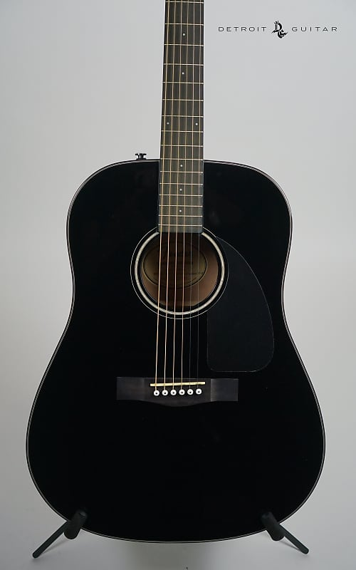 fender cd 60 black w case detroit guitar reverb. Black Bedroom Furniture Sets. Home Design Ideas
