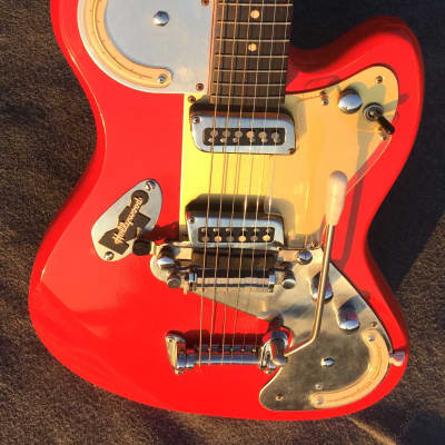 Meazzi Jupiter Made in Italy Red Color 1965 for sale