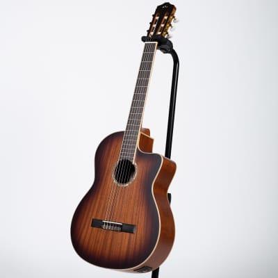 Cordoba C4-CE Cutaway Classical-Electric Guitar - Edgeburst for sale