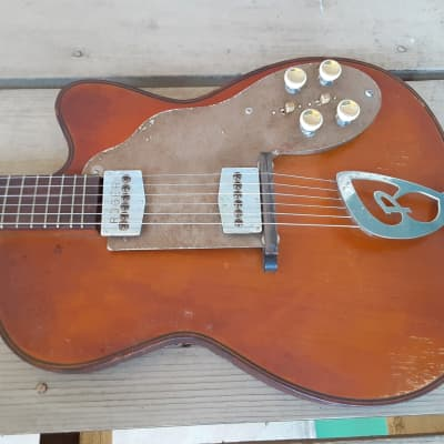 Vintage Late 1950's Roger Electric Electric Guitar! Rare German-Built Instrument! Rickenbacker, Fender Ties! for sale