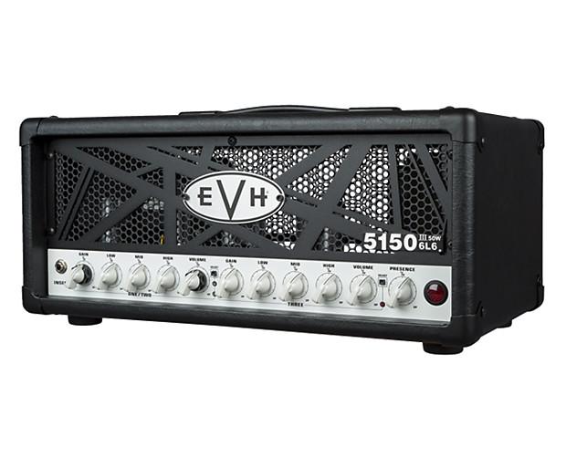 evh 5150iii 50 watt 6l6 guitar head black proaudiostar reverb. Black Bedroom Furniture Sets. Home Design Ideas