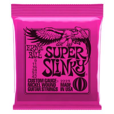 Ernie Ball Super Slinky Nickel Wound Electric Strings