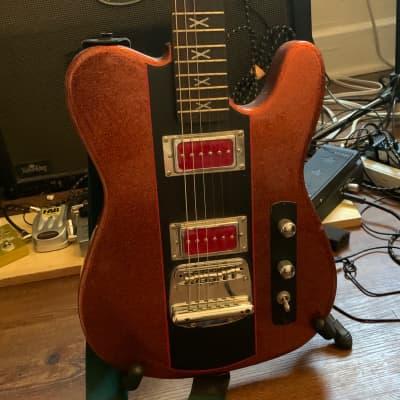 Hardluck Kings Southern Belle Telecaster custom Red glitter for sale