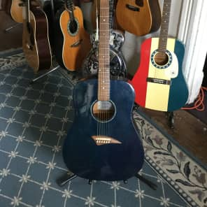 Dean Playmate DG-1 Acoustic Guitar Blue for sale