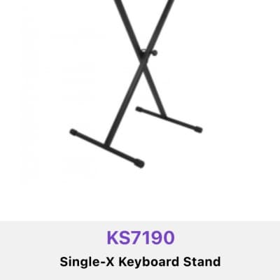 On-Stage KS7190 Classic Single-X Keyboard Stand Stand