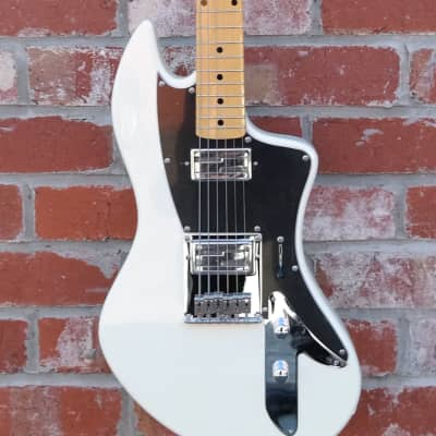 Lace Cybercaster Standard Series Electric Guitar Olympic White for sale