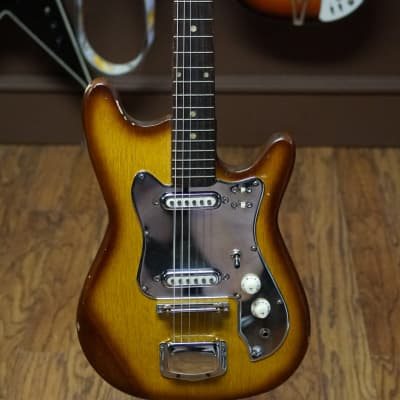 Made in Japan Kimberly Stratocaster shape 1960s Tobacco Burst for sale