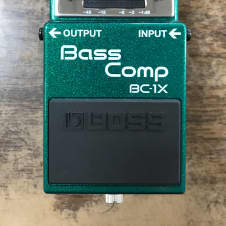 BEST OFFER Boss BC-1X Bass Comp Stompbox Pedal