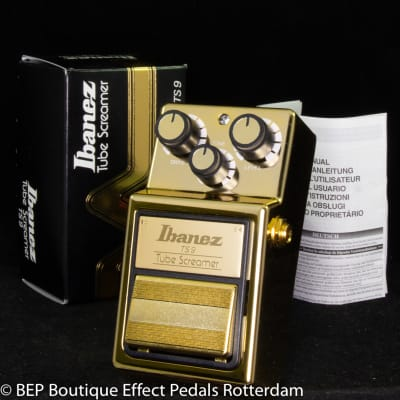 Ibanez TS-9 Gold Tube Screamer Ikebe Gakki Limited Edition s/n 1830311 made in Japan