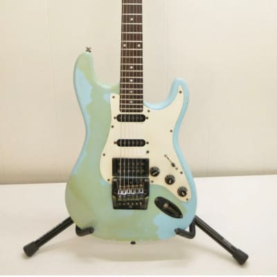 JB Player 1980s Strat-style double cut for sale
