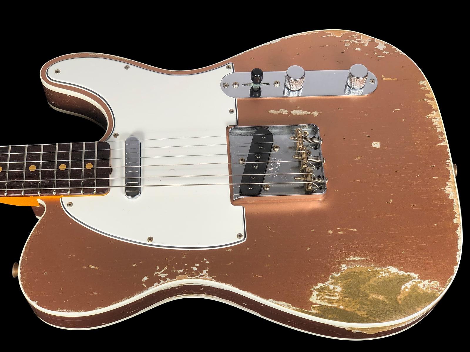 2019 Fender Telecaster 1960 Custom Shop  Heavy Relic 60 Tele ~ Copper