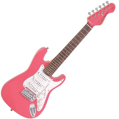 ENCORE 3/4 ELECTRIC GUITAR- GLOSS PINK for sale
