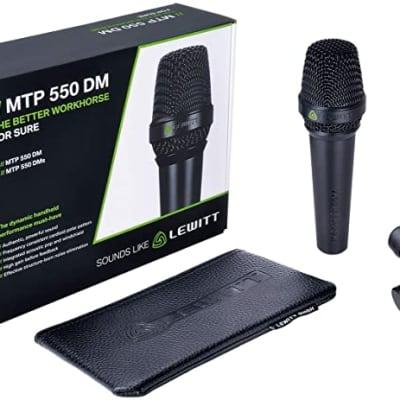 Lewitt MTP-550-DM-S Handheld Dynamic Vocal Microphone (B-Stock)