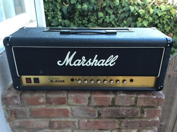 Marshall jcm 900 sl x model 2100 100w tube amp head reverb for California 2100 amp