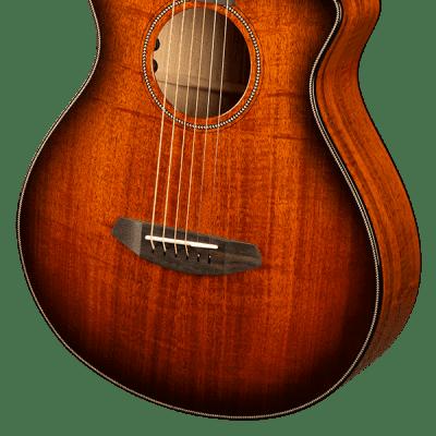 Breedlove Oregon Myrtlewood-Myrtlewood Series Concertina in Bourbon Burst CE