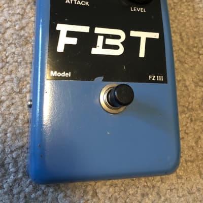 FBT Jen (JHS) Fuzz III 1970s Blue