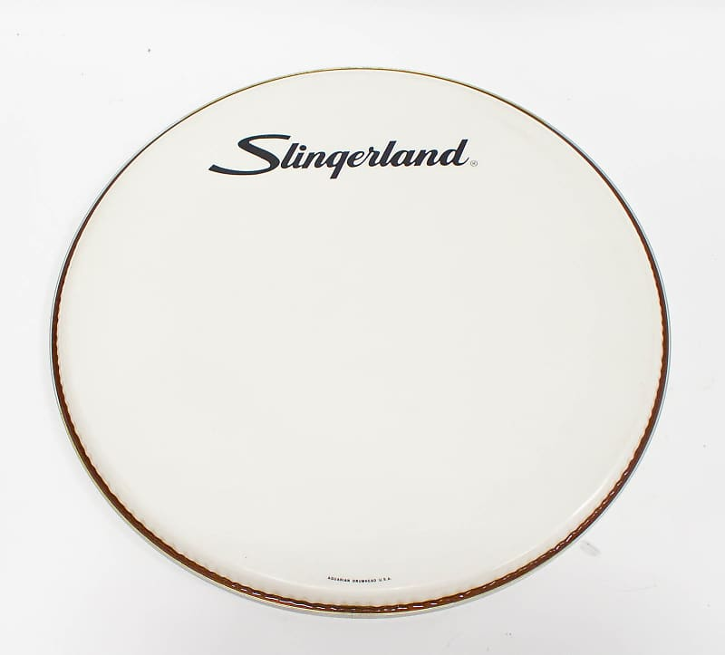slingerland aquarian kick drum head usa 20 reverb. Black Bedroom Furniture Sets. Home Design Ideas