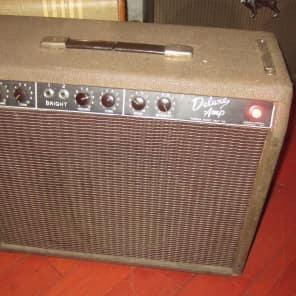 Vintage 1963 Fender Deluxe Amp