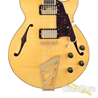 D'Angelico EX-SS Natural Archtop Guitar #S13006077- Used