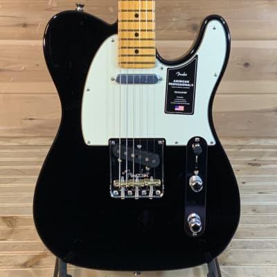 Fender American Professional II Telecaster Electric Guitar - Black