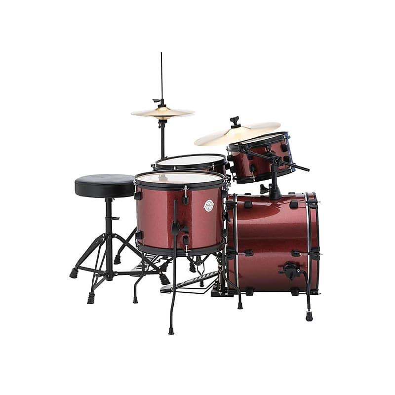 ludwig lc178x questlove pocket kit drum set 4 piece black reverb. Black Bedroom Furniture Sets. Home Design Ideas