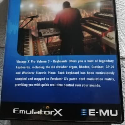 E-MU Systems Vintage X Pro Volume 3 - Keyboards 2004 3 x CD